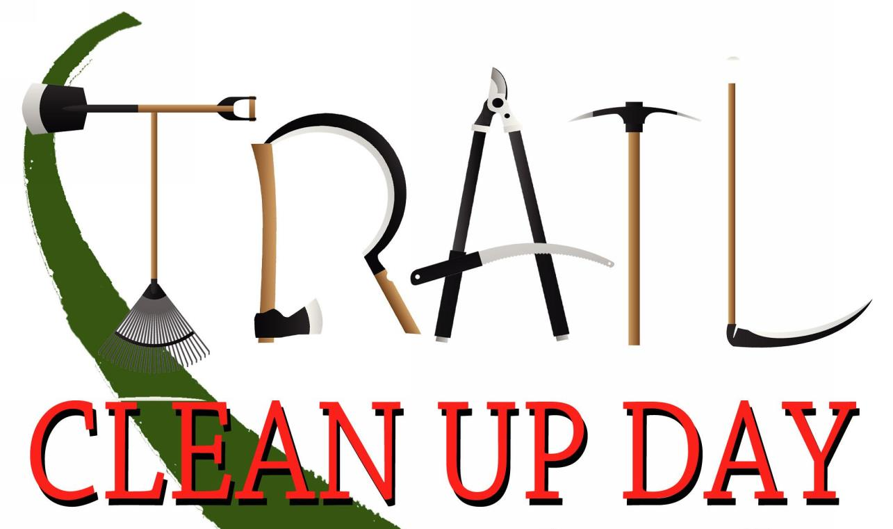 Image result for trail clean up